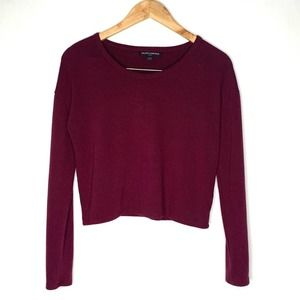 Brandy Melville long sleeve sweater crop top